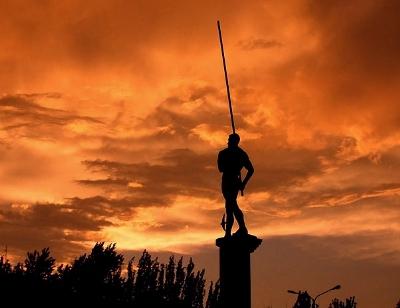 セルゲイ・ブブカの銅像