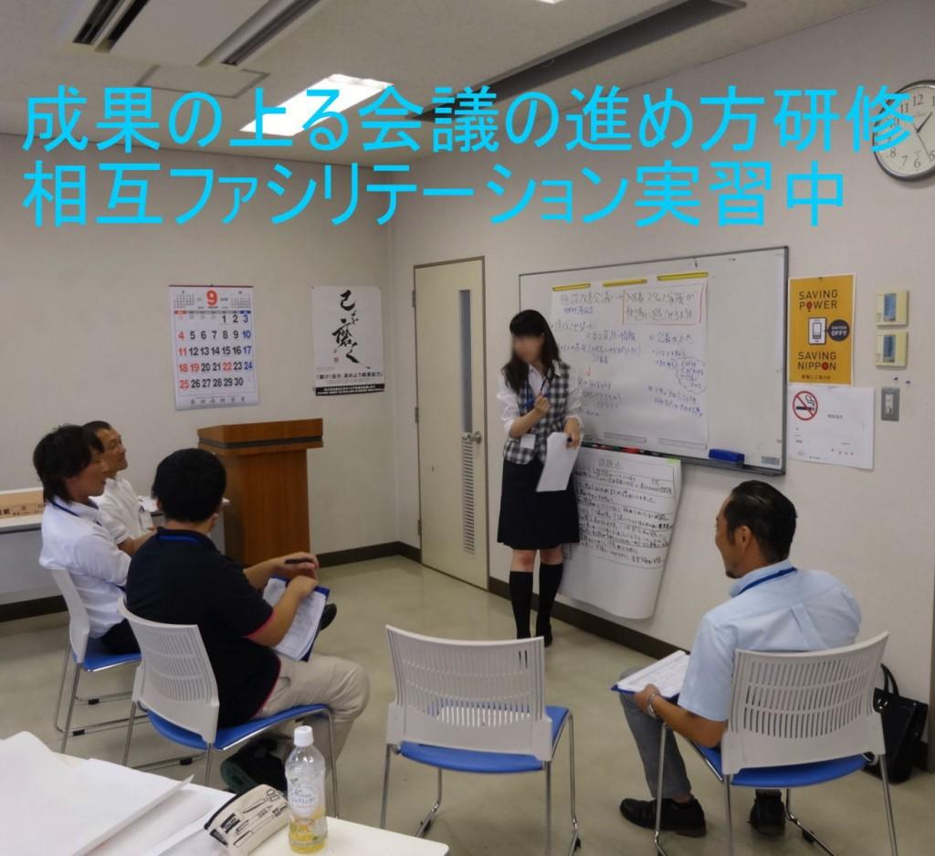 成果の上る会議の進め方研修~相互ファシリテーション実習