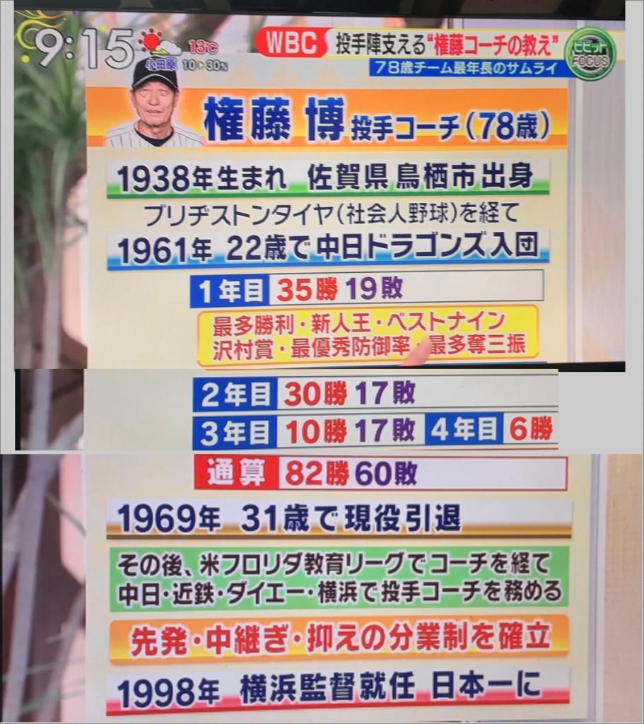 権藤博の球歴